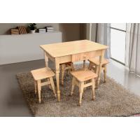Комплект кухонный стол+4 табурета (серия Смарт)