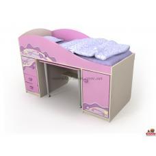 Кровать-горка Pn-40-1 Pink