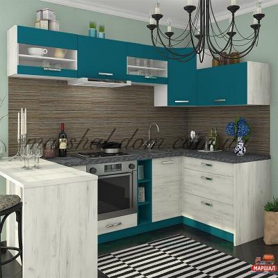 Кухня Шарлотта индиго 1м.п.