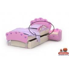 Защитная боковина к кровати Pn-20 Pink