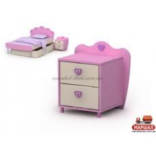 Тумба к кровати Pn-14-2 Pink