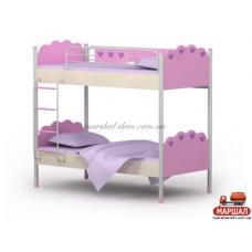 Двухэтажная кровать Pn-12  Pink