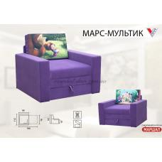 Детский диван Марс принт Вика (Львовск.обл.) купить в Одессе, Украине