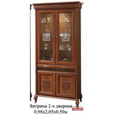 Витрина 2-х дверная Лаура Нова