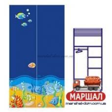 Двухдверный шкаф Od-02-3 (море) Ocean Бриз, г. Вишневый купить в Одессе, Украине