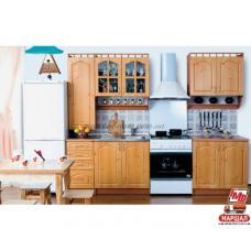 Кухня Карина МДФ 2,0 м с пеналом БМФ (Белоцерковская мебельная фабрика) купить в Одессе, Украине