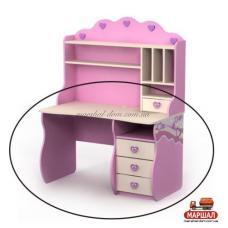 Письменный стол Pn-08-2 Pink