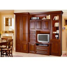 Гостиная  Капри шкаф  (лак)