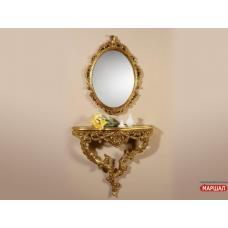 Зеркало Росана золото (крашеное)снято с производства!!! Миро Марк (Украина-Италия) купить в Одессе, Украине