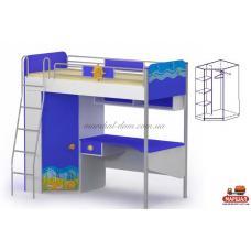 Кровать стол Od-16-2 Ocean Бриз, г. Вишневый купить в Одессе, Украине