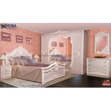 Спальня Далия с шкафом 4Д