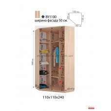 Шкаф - купе Виват ВУ1100 (фабрика временно не работает)