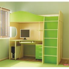 Детская кровать - стол Глория