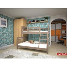 Кровать двухъярусная Комби 1