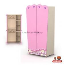Двухдверный шкаф Pn-02-3 Pink