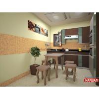 Кухонный стол Гармония (с табуретами)