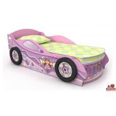 Кровать-машинка Pn-11-80 Pink