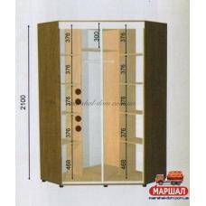Угловой шкаф-купе ШКУ - 05/2100 (1500х2100х1500)