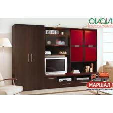 Гостиная Эго 3 / ЕGО 3 вариант шкаф (Снята с производства)