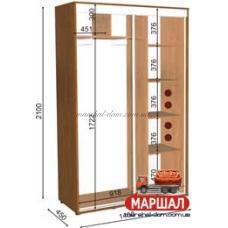 Шкаф-купе 05/2100 (1400х450х2100)