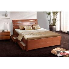 Кровать Мария Люкс с ящиками