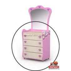 Комод Pn-06 Pink