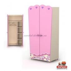 Двухдверный шкаф Pn-02-2 Pink Бриз, г. Вишневый купить в Одессе, Украине