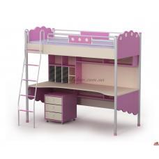 Кровать-стол Pn-16-1 Pink