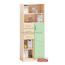 Книжный шкаф Ф-4853 Комфорт-мебель (г. Белая Церковь) купить в Одессе, Украине