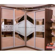 Шкаф - купе №2 Дизайн-студия Квадро купить в Одессе, Украине