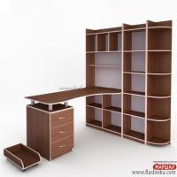 Компьютерный стол - Флеш 38 ФН