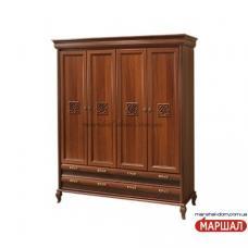 Лаура Нова Шкаф 4-х дверный