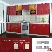 Кухня Хай Глосс / Hige Gloss №3 - 1м.п.