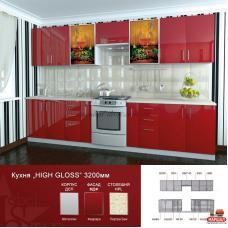 Кухня Hige Gloss №3 Mebel Star (Мебель стар) купить в Одессе, Украине
