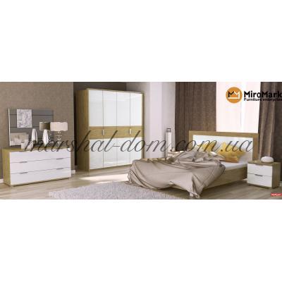 Спальня Верона / Verona Глянец Белый - Сан Марино