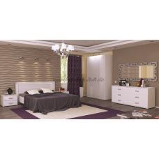 Спальня Белла Глянец Белый Миро Марк (Украина-Италия) купить в Одессе, Украине