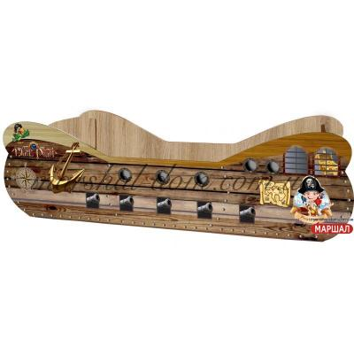Кровать Пиратский корабль КР-0003