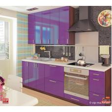 Кухня Мода фиолетовый